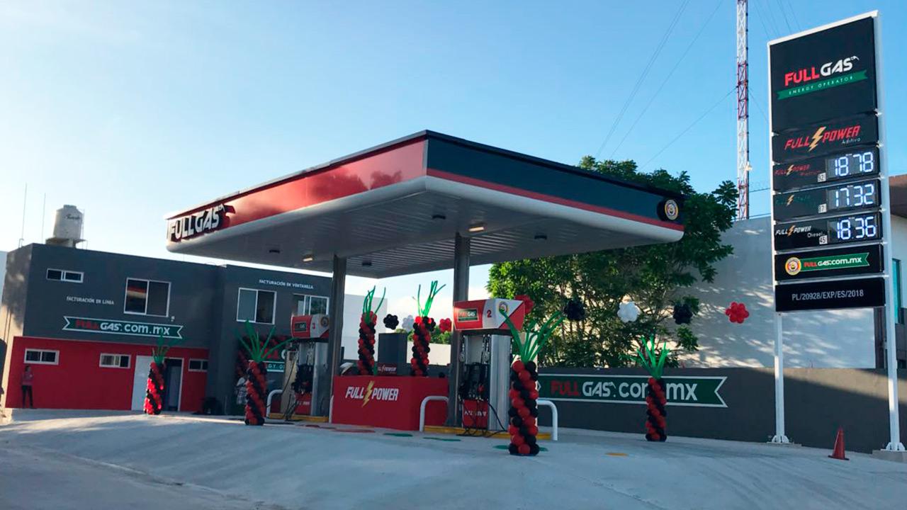 Fullgas también va a la guerra: lanza su marca de gasolineras