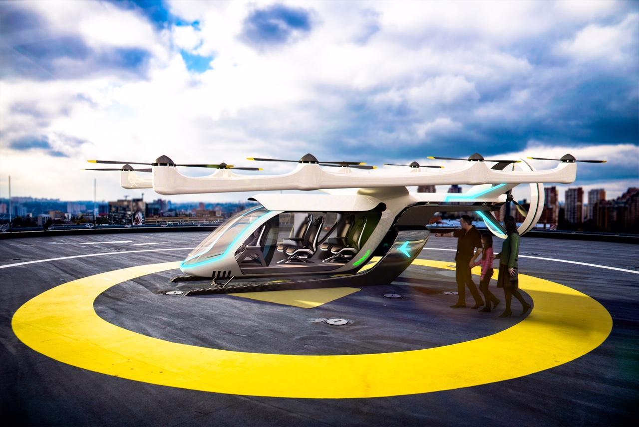 Uber muestra al mundo cómo será su prototipo de vehículo volador