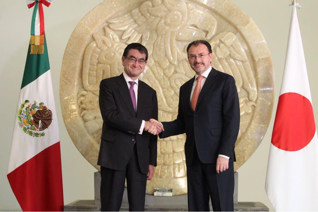 México se compromete a proteger intereses de firmas japonesas en TLCAN