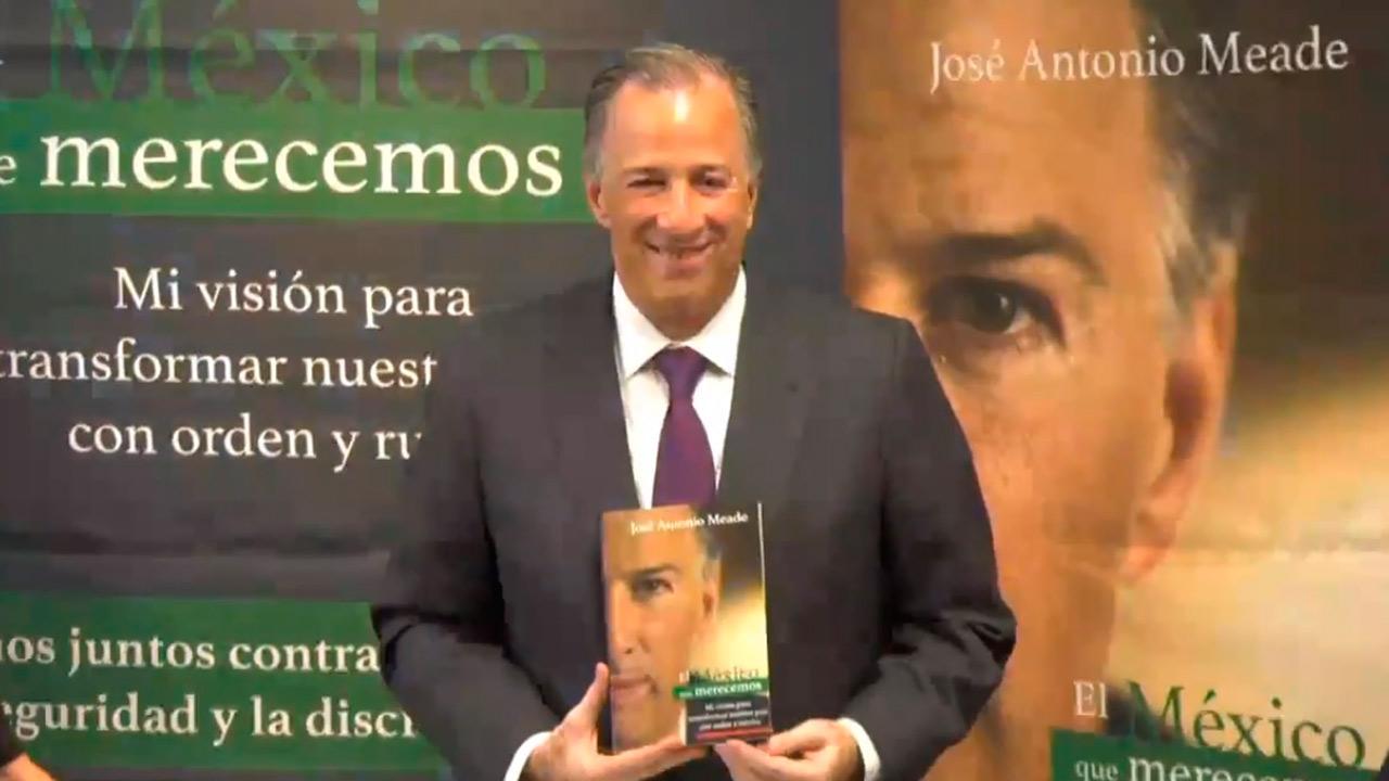 José Antonio Meade presenta su libro con propuestas para México