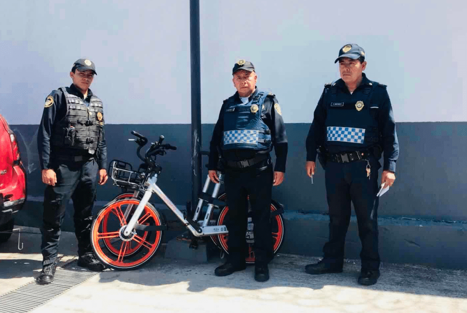 De Polanco a Tepito, así ha sido la ruta de las bicis de Mobike
