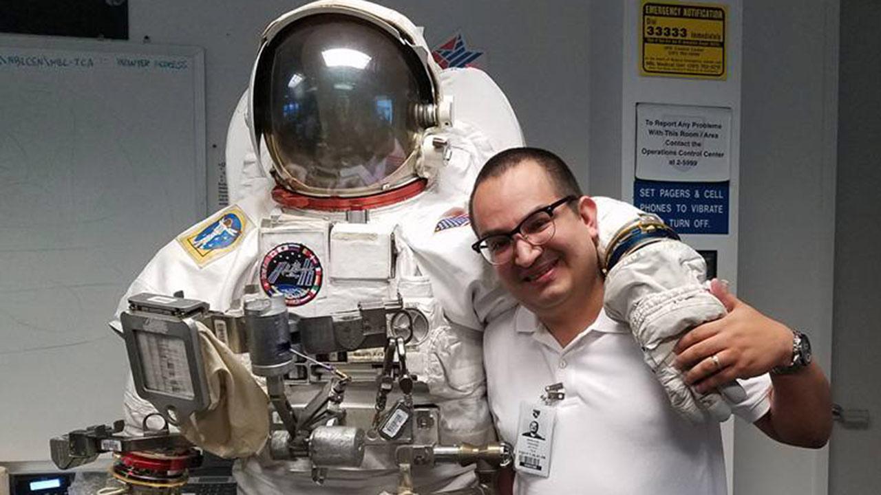 El mexicano con la misión de cuidar la salud de la expedición a Marte