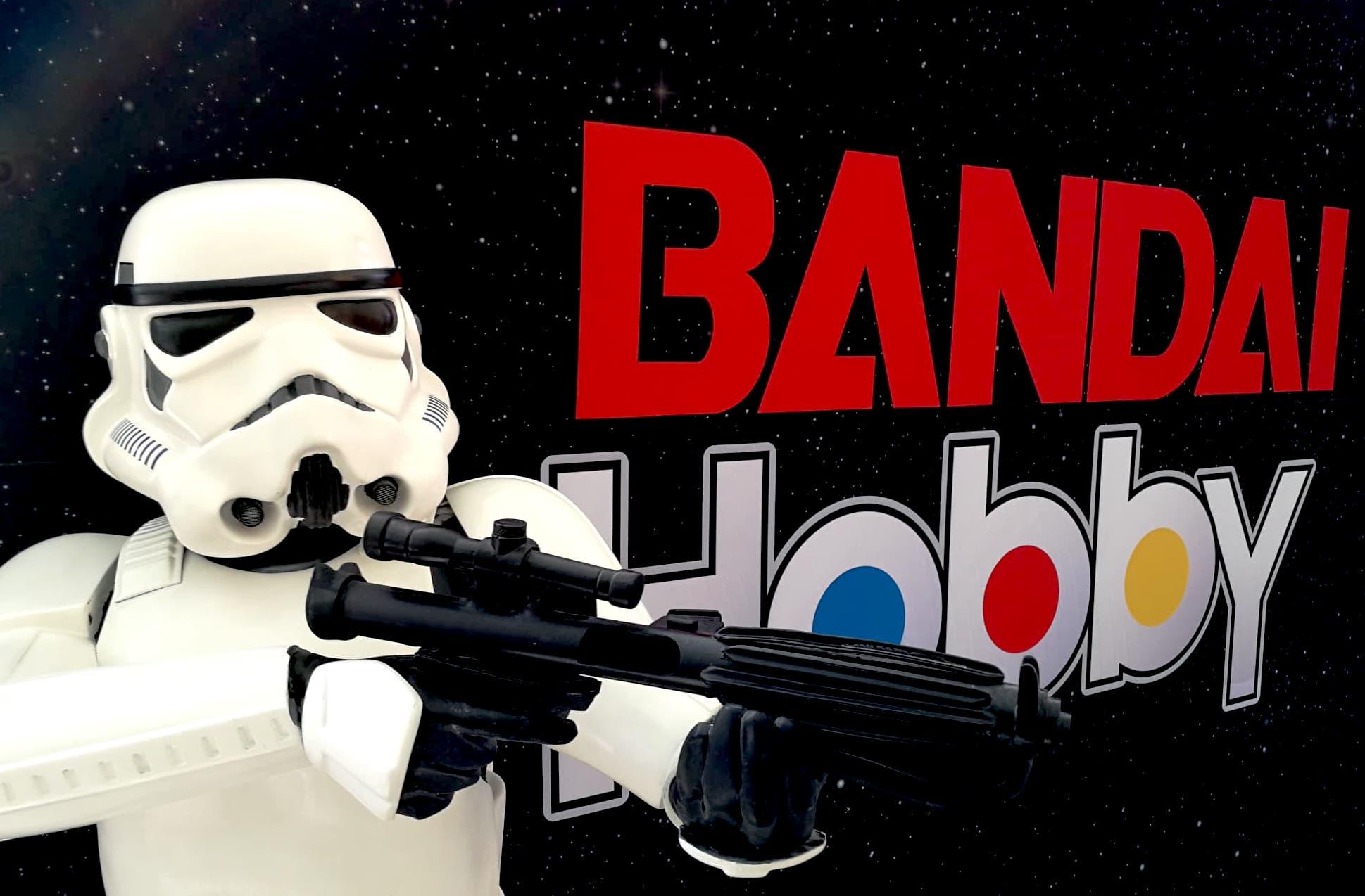 Bandai Hobby lanza colección con el sello de Star Wars