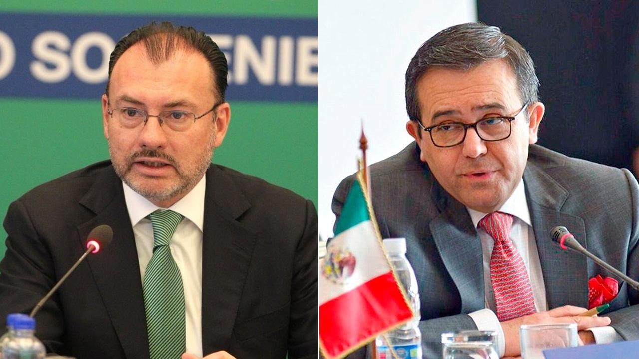 México seguirá negociando con EU, aseguran Videgaray y Guajardo