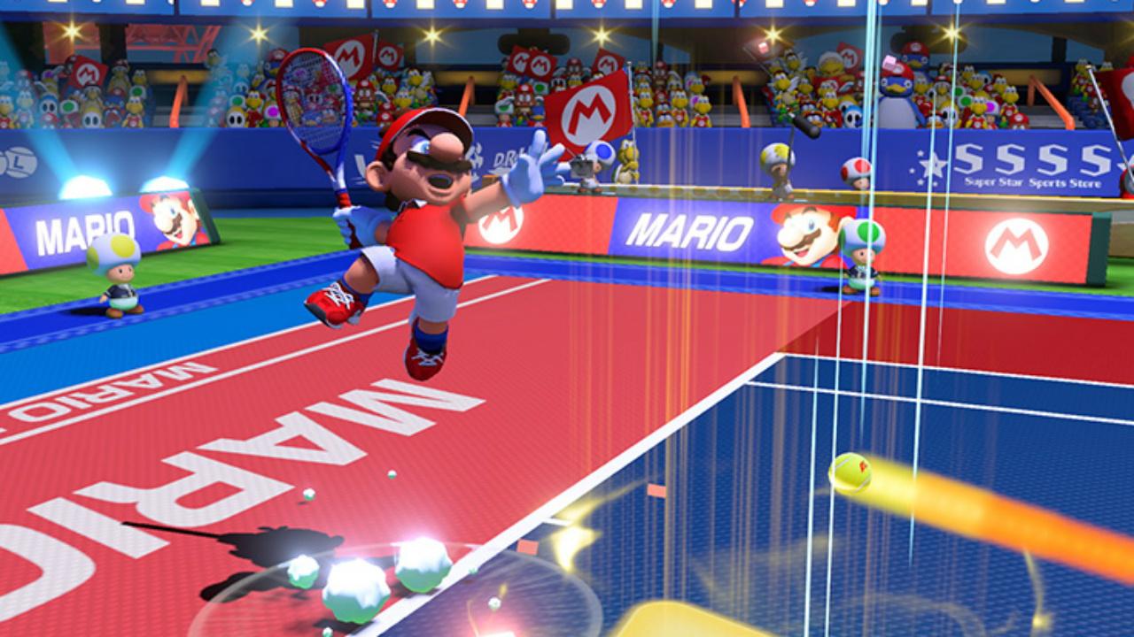 Mario Tennis Aces: emoción del tenis para llevar