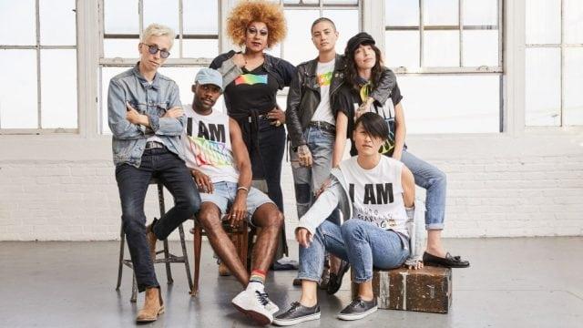nuevo estilo vendido en todo el mundo llegando Levi's lanza colección Pride primavera - verano 2018