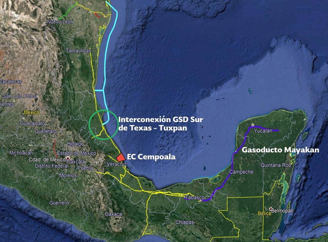 IP y gobierno invertirán 1,750 mdp para llevar gas natural a Yucatán