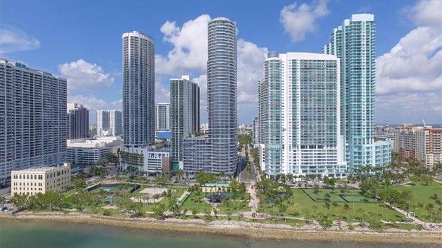 Miami, lujo, condominio, torre