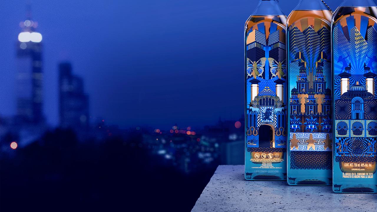 Blue Label plasma el progreso de la Ciudad de México en una edición limitada