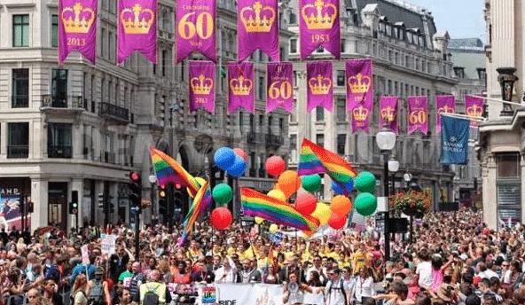 Pride, orgullo, lgbt, Londres