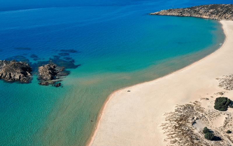 Chia, Cerdeña, Italia, playas, viaje, destinos