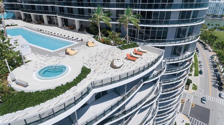 Miami, lujo, condominio