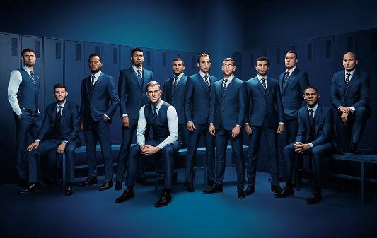 Inglaterra, Rusia 2018, ropa, selecciones