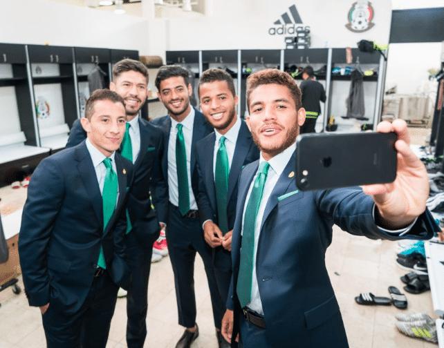 Rusia 2018, México, ropa, selecciones