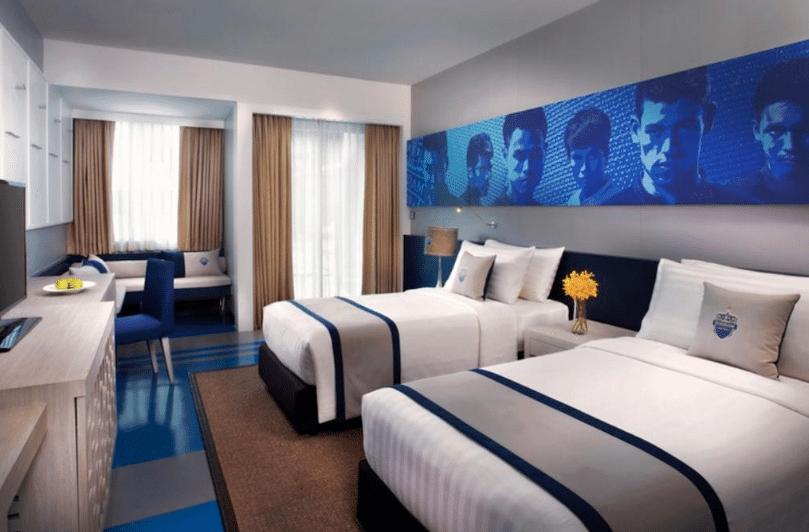 hoteles, hoteles futboleros, futbol