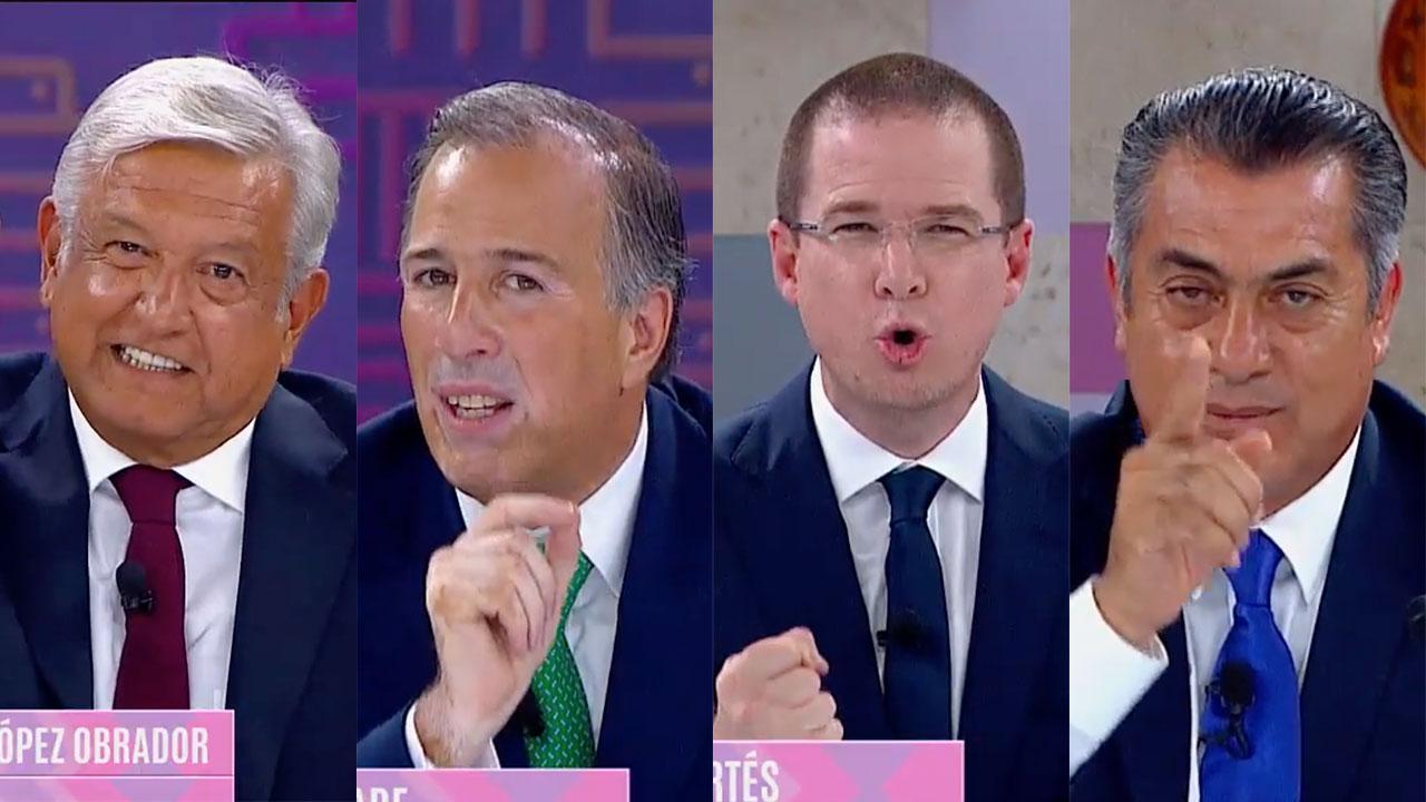 Intercambio de ataques protagoniza el último debate presidencial