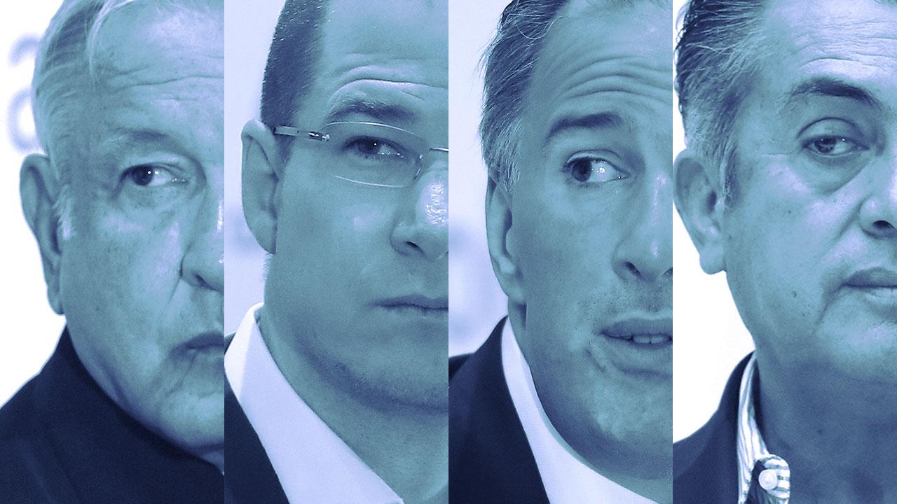 Uno de cada dos votará por AMLO: encuesta de De las Heras
