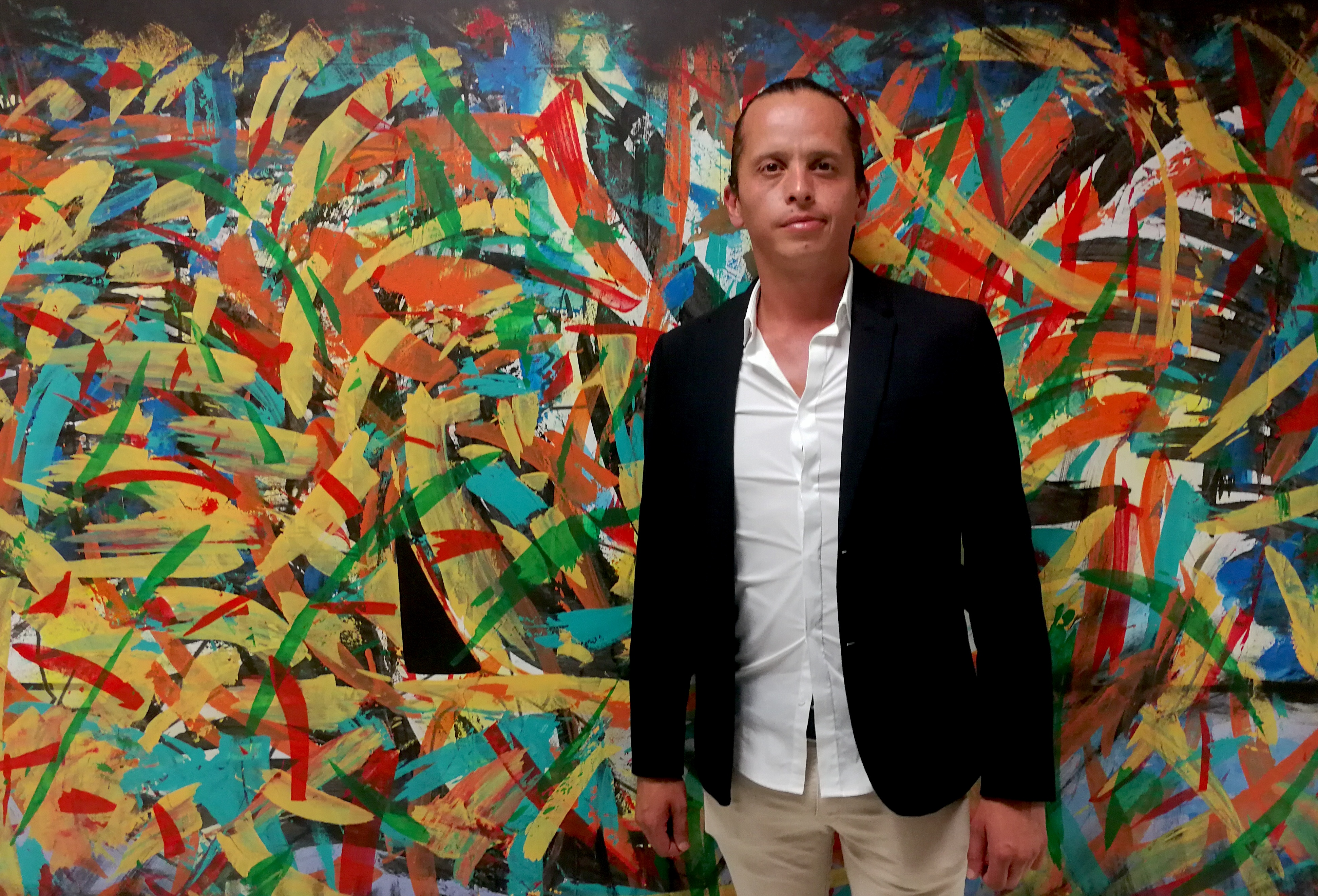 """Frank Brito presenta la exposición """"De adentro hacia afuera"""""""