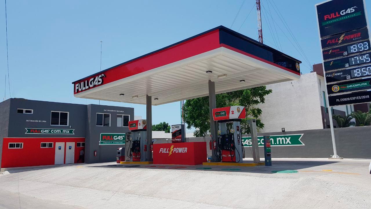 Fullgas 'quitará' a Pemex 70 gasolineras al cierre de 2018