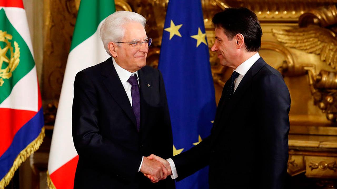 Giuseppe Conte toma riendas de Italia al frente de un gobierno de coalición