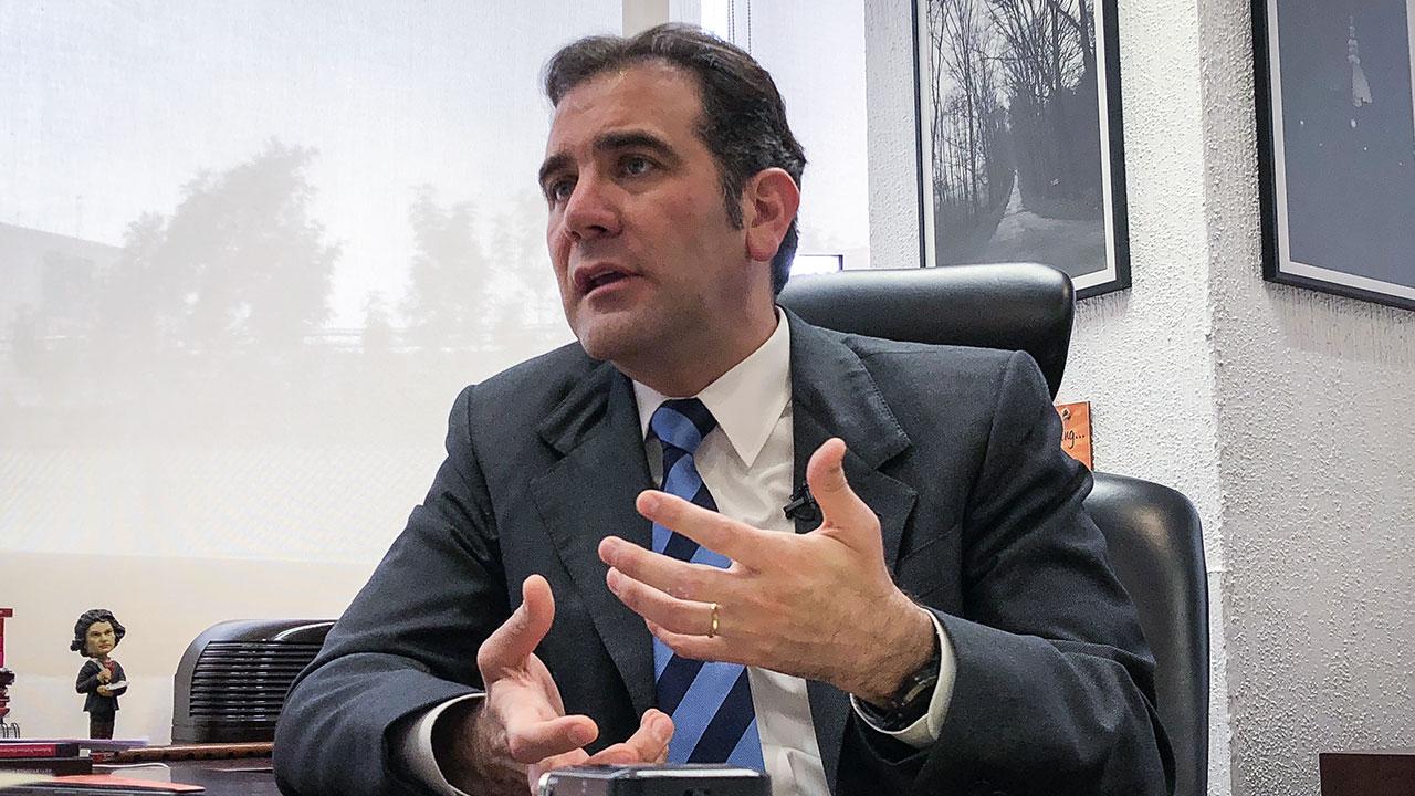 INE, sin capacidad para organizar elecciones estatales: Lorenzo Córdova