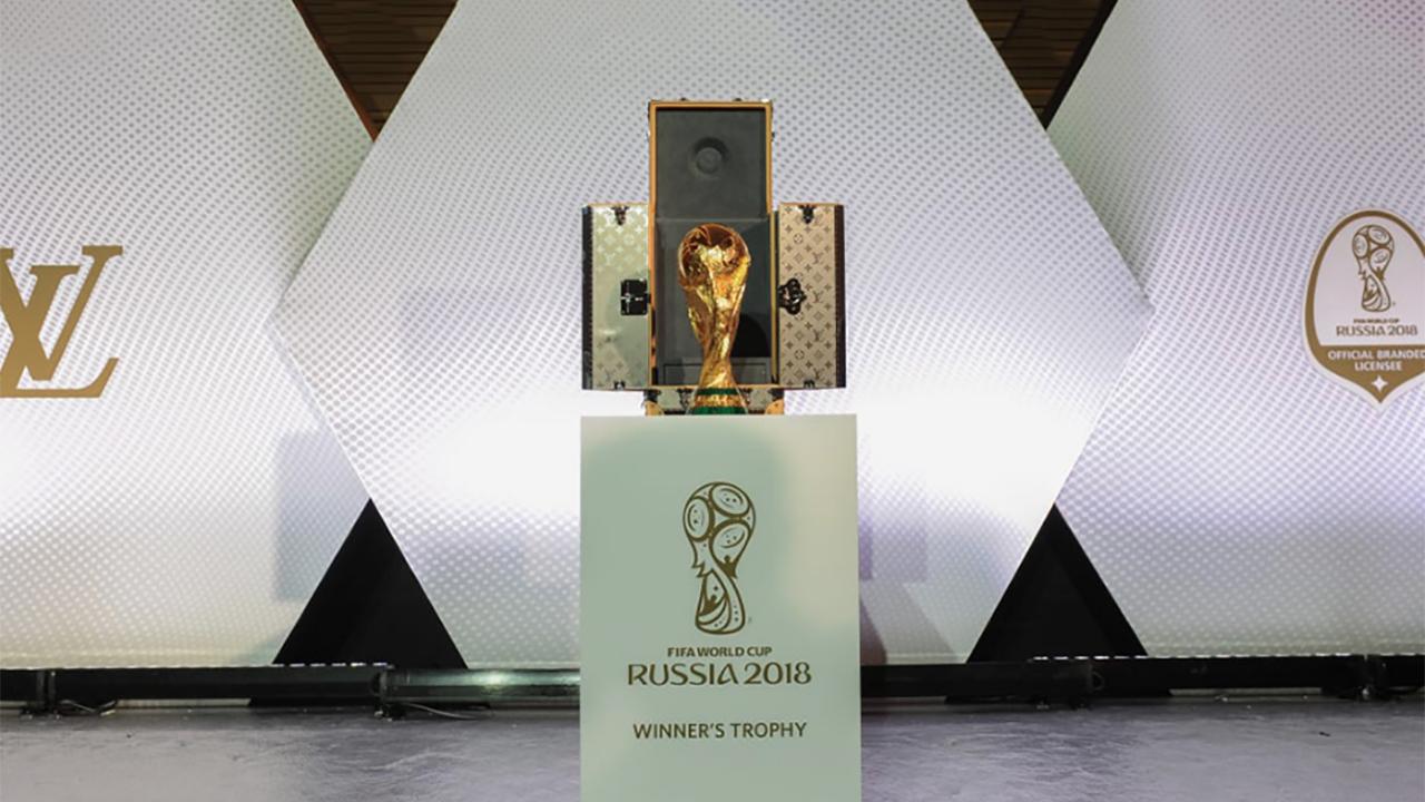 Louis Vuitton presenta el estuche de la Copa del Mundo