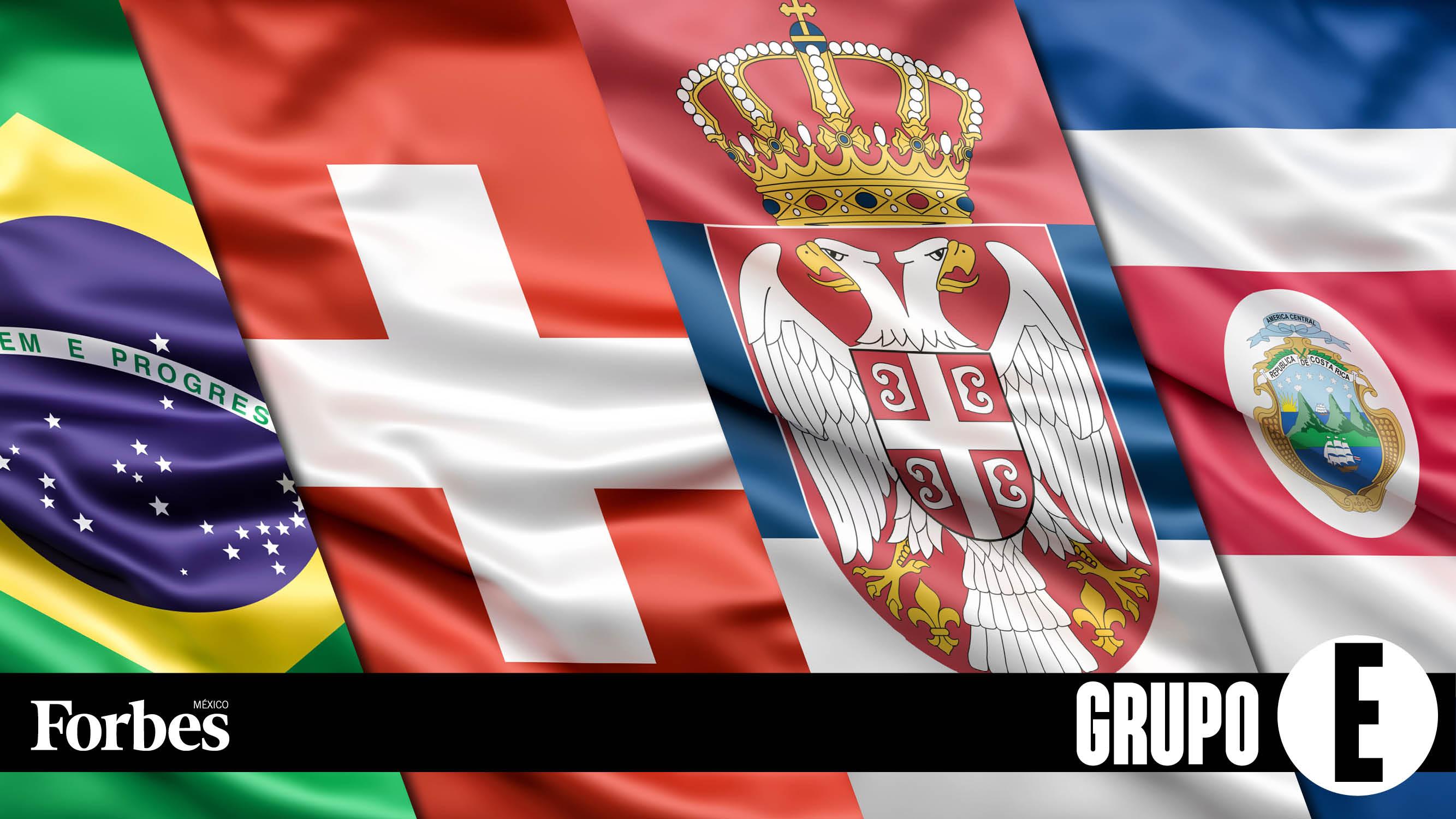 Rusia 2018 | Grupo E: Brasil, con sed de venganza