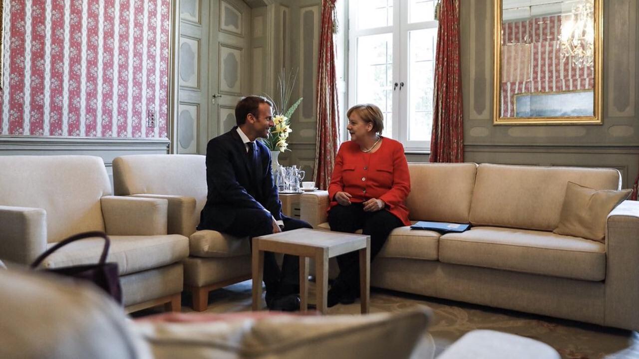 Macron y Merkelprevén para 2021 presupuesto de la zona euro
