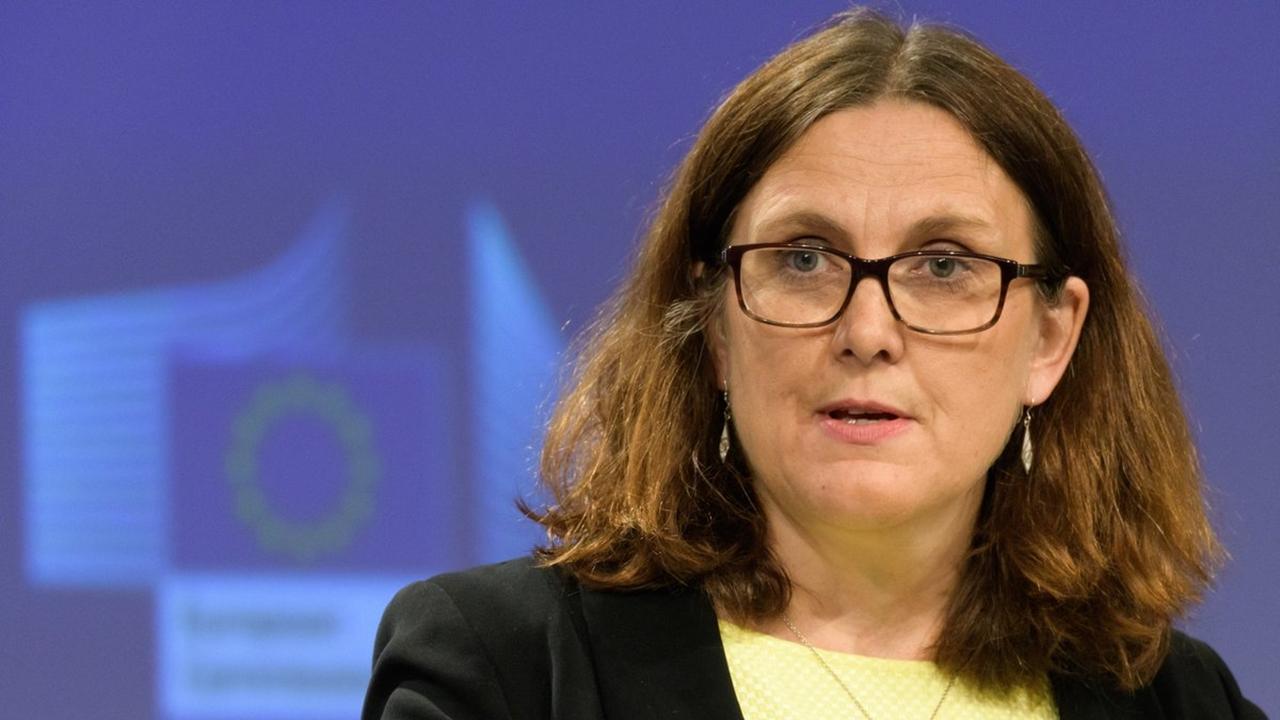 UE prepara nuevas represalias comerciales antes de visita a Trump