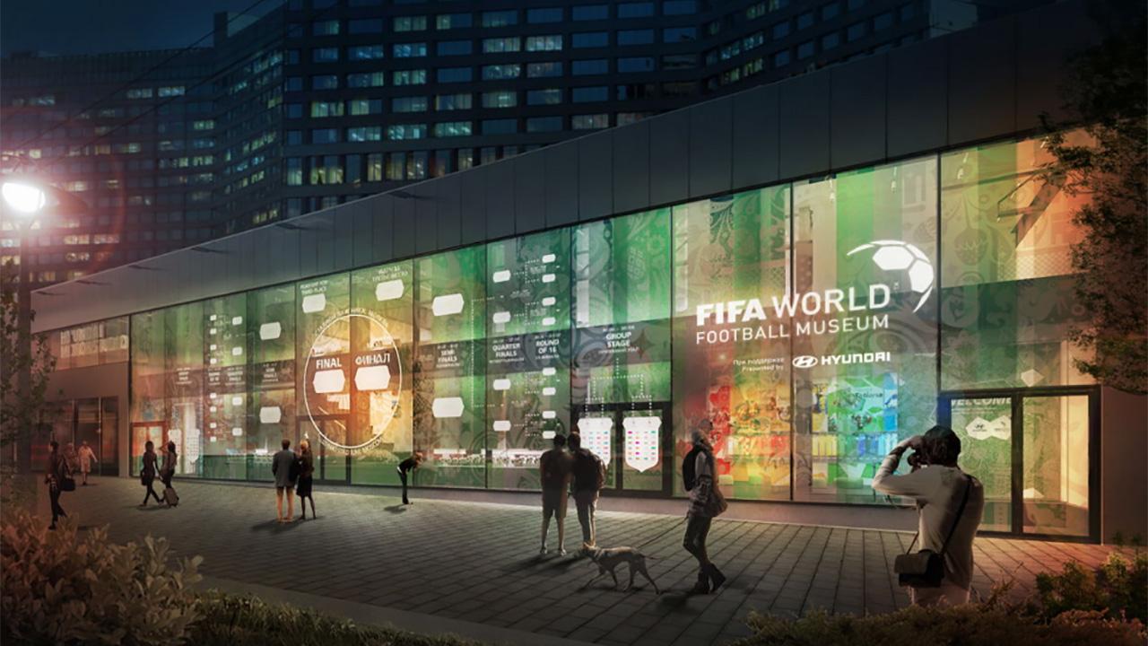 El Museo Mundial del Futbol de la FIFA abre sus puertas en Rusia