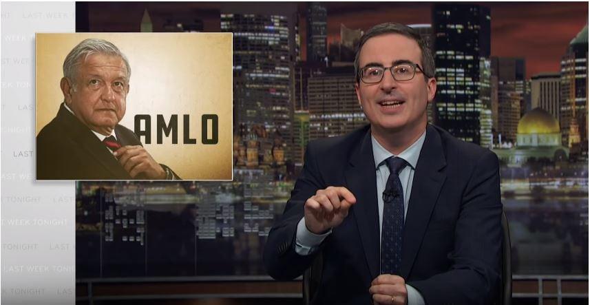 AMLO es una mezcla de Bernie Sanders y Trump: John Oliver