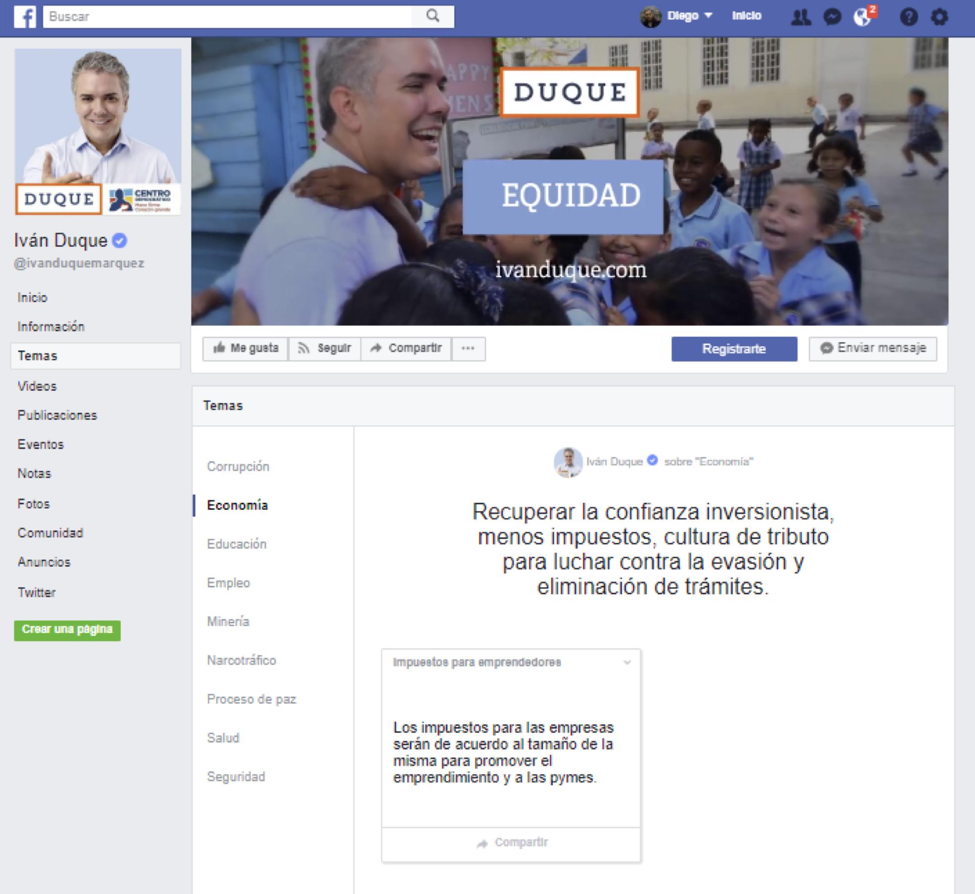 Facebook busca ayudar a los usuarios para que voten bien informados