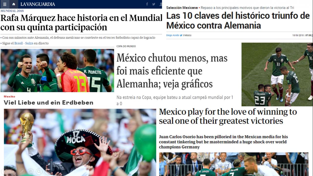 El mundo está de acuerdo en esto: México merecía ganar
