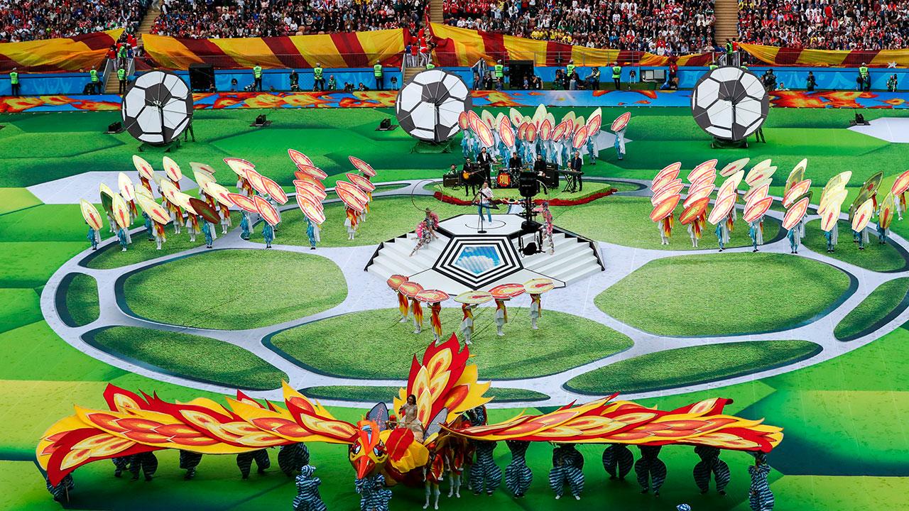 Rusia 2018 | 4.3 millones de personas vieron la inauguración del Mundial