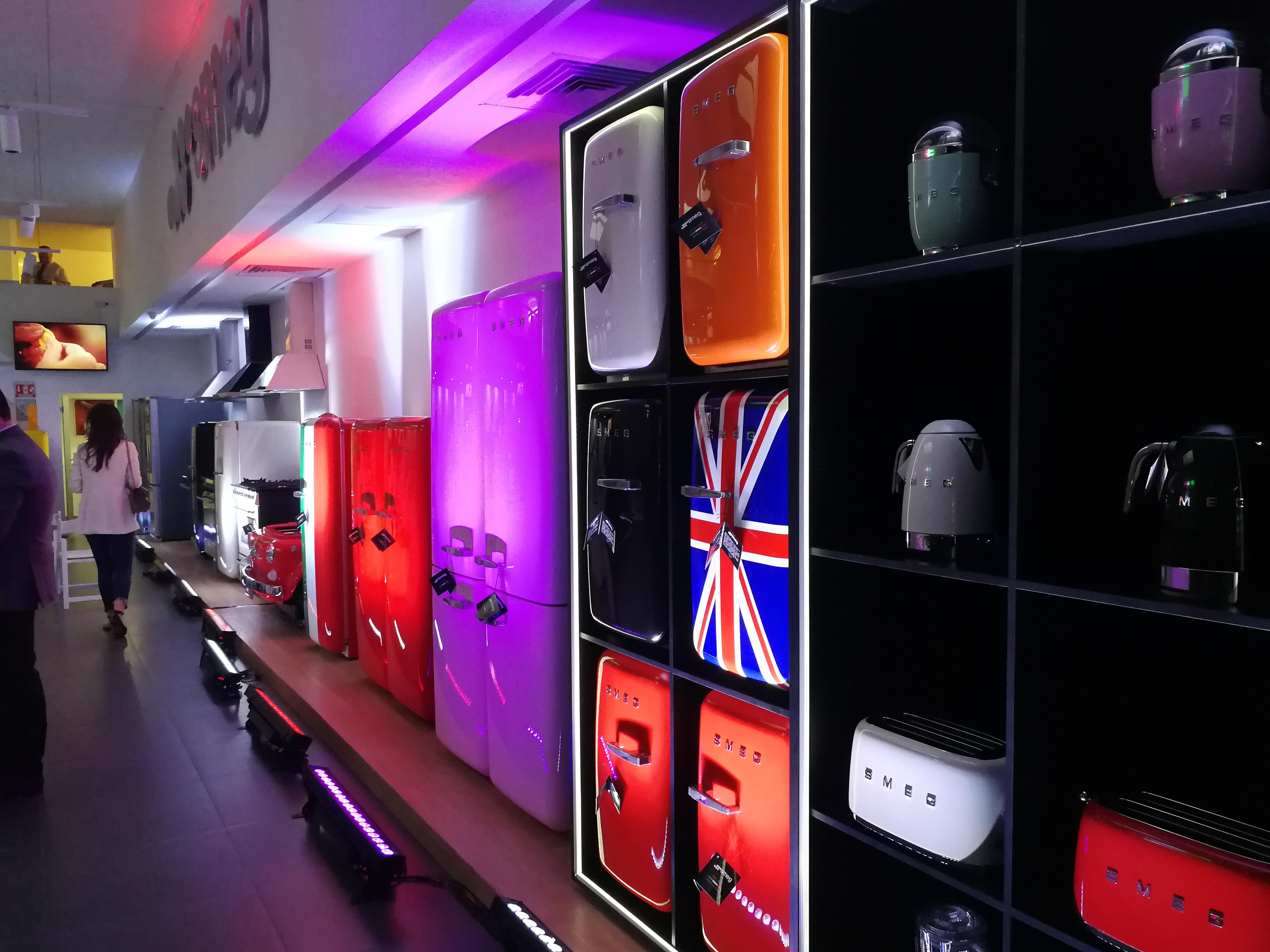 Smeg inaugura showroom en la Ciudad de México