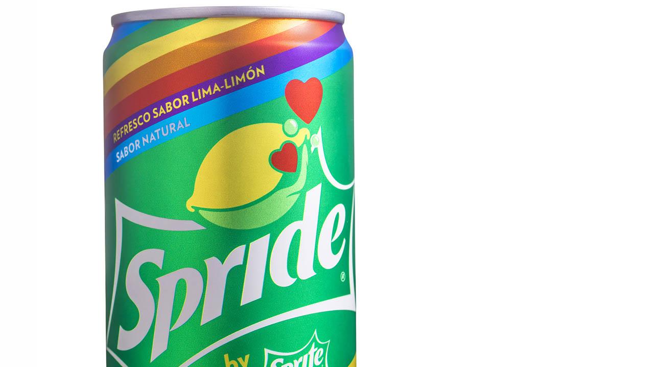Sprite celebra el orgullo LGBT y se convierte en Spride
