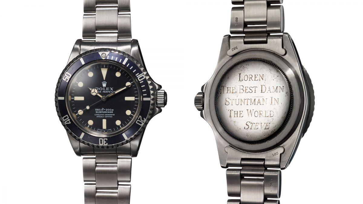 Exclusiva: la historia secreta del Rolex Submariner de Steve McQueen