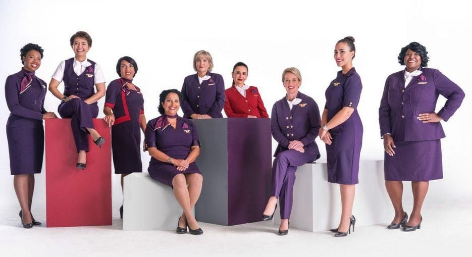 Zac Posen hace un cambio de imagen a Delta Airlines