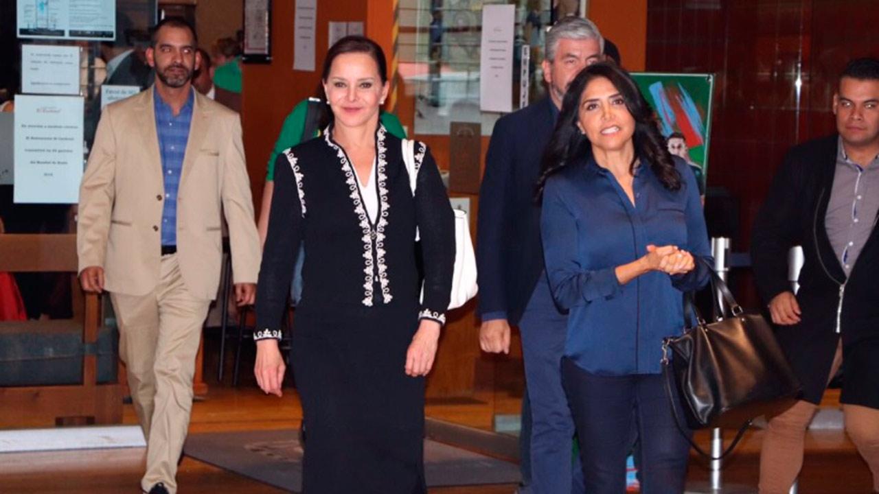 Purificación Carpinteyro pide el voto para Alejandra Barrales