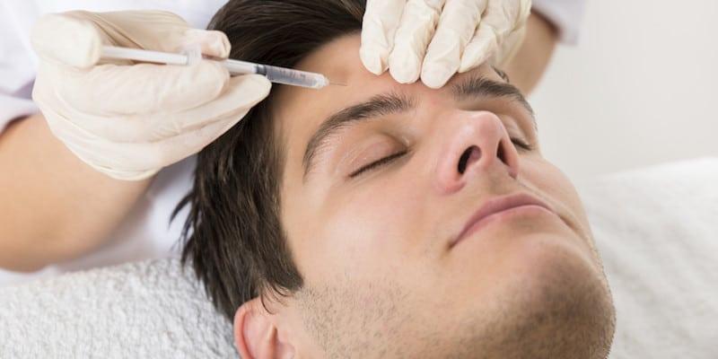 Botox para hombres, la opción de moda contra el envejecimiento