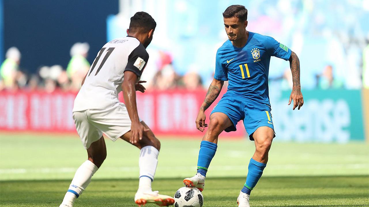 Brasil encamina su pase a octavos con sufrida victoria sobre Costa Rica