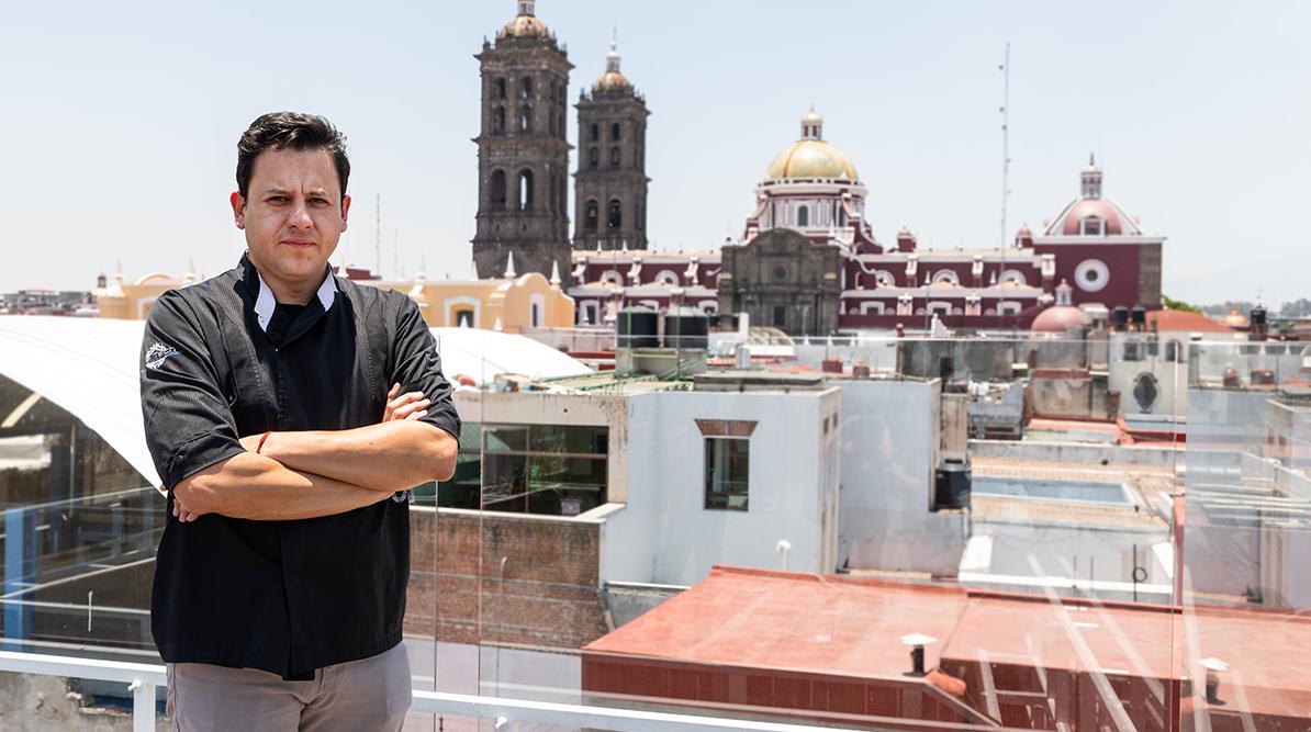 Un día con… Ángel Vázquez, guardián de los sabores de Puebla