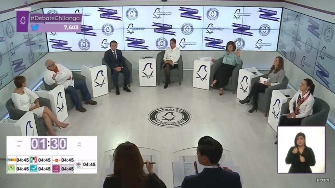 Debate por la CDMX: todos ofrecen terminar la corrupción