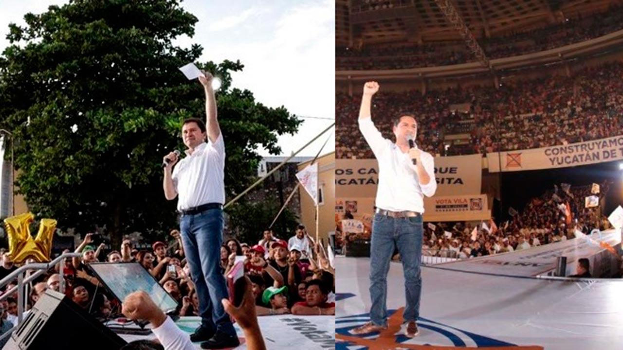 Albazo y euforia del PAN al cierre de casillas en Yucatán
