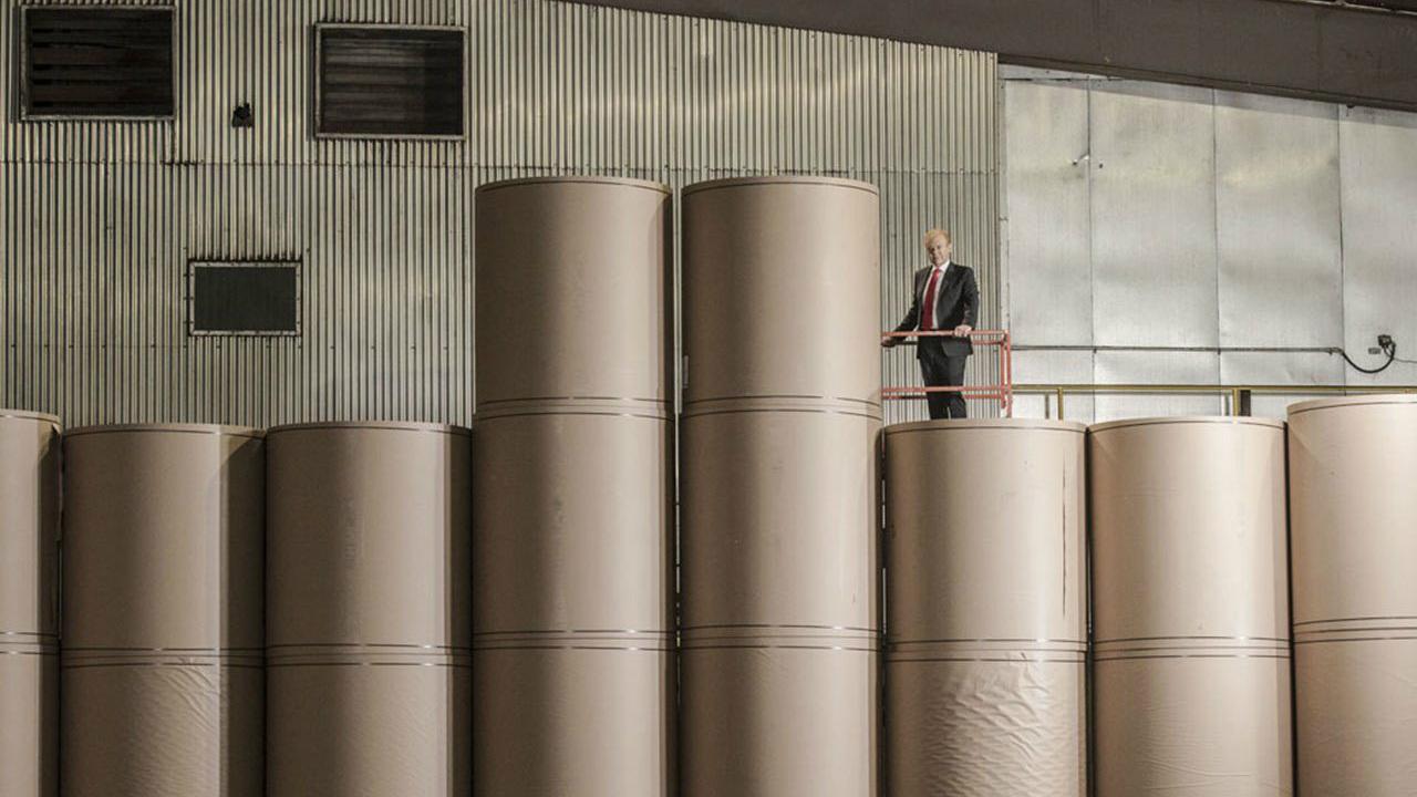 El resurgir de la industria papelera en el mundo
