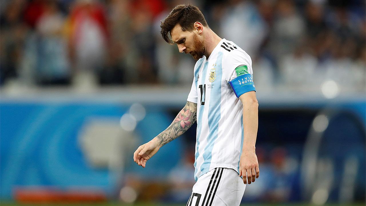 Mal paso de Argentina en el Mundial no le pegará a la marca 'Messi'