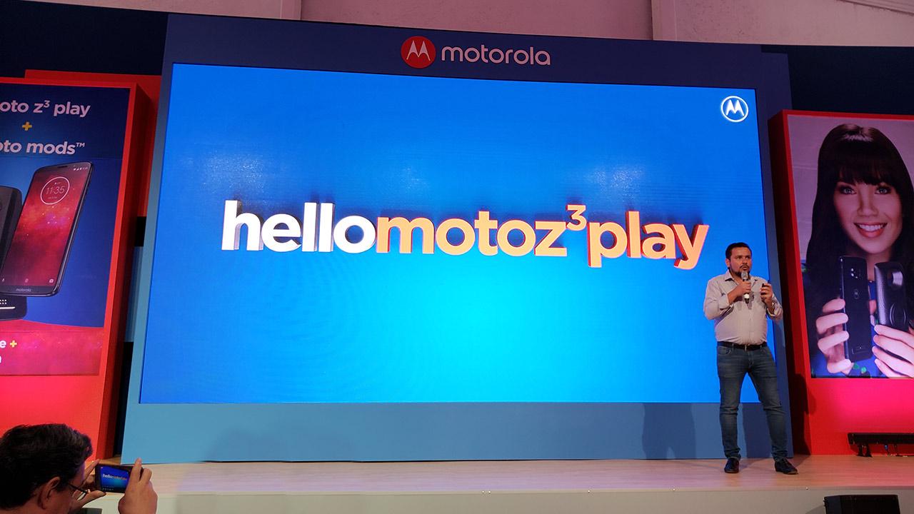 Motorola trae a México su Moto Z3 play