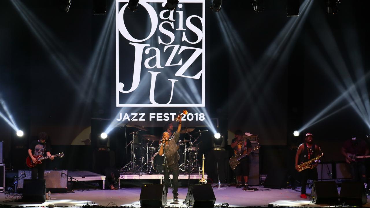 Oasis Jazz U 2018 y el tiempo suspendido de Cancún