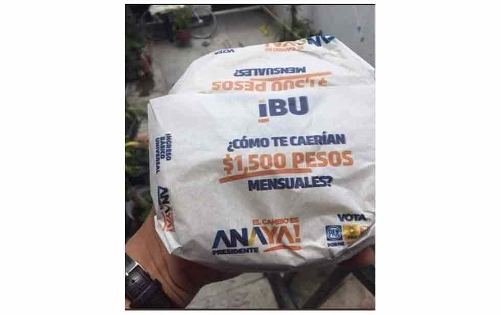 Propaganda electoral, no en la tortilla: ordena INE al PAN