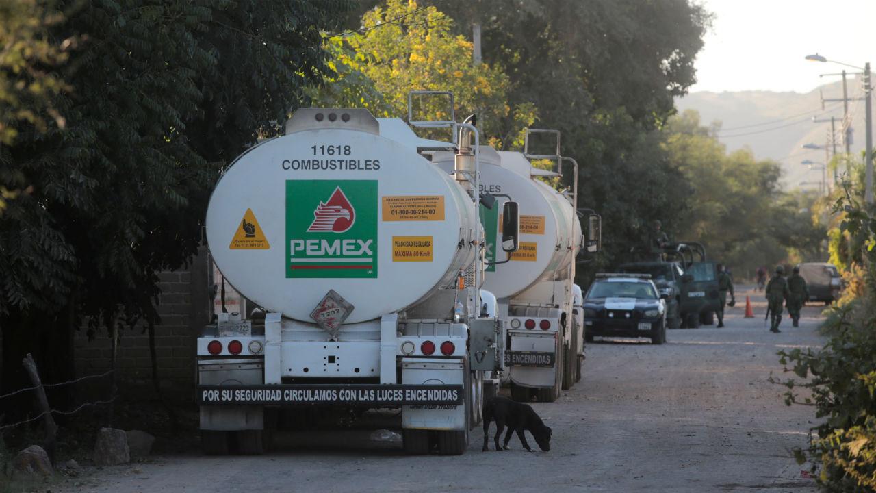 Continúa abasto gradual de gasolina en Ciudad de México